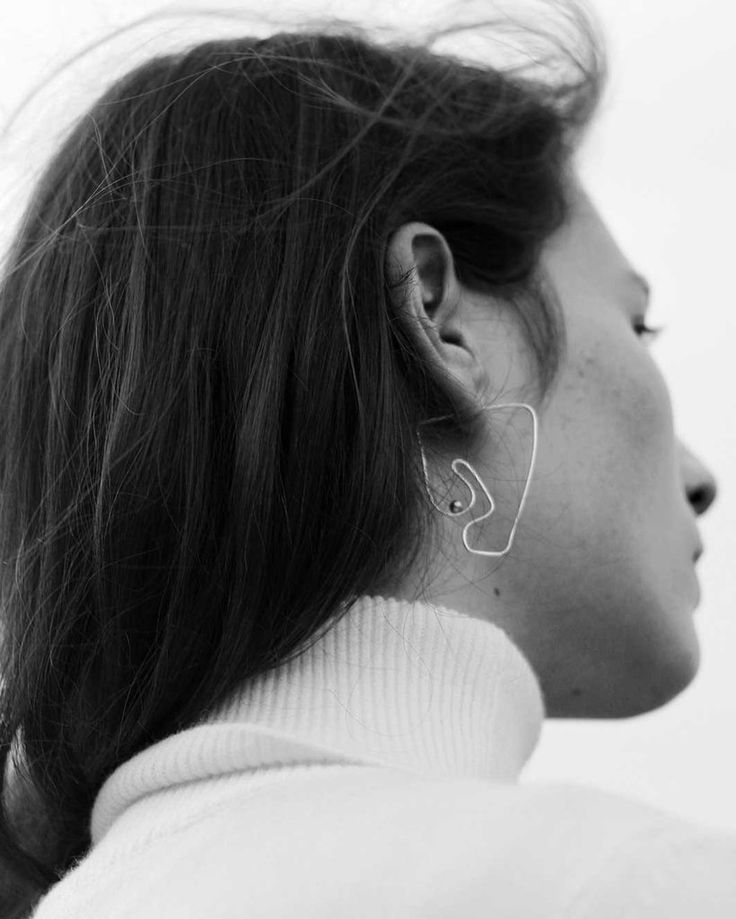 Deconstructed Nude Earring | Knobbly x Laurie Franck