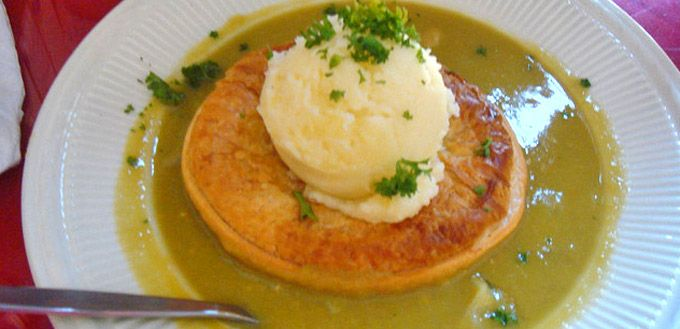 Adelaide Pie Floater- specialty food from South Australia