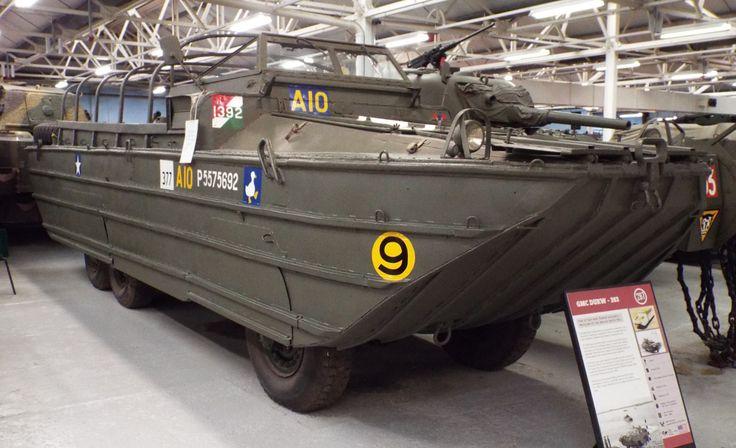 US GMC DUKW-353 Tank Museum Bovington