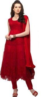 Applecreation Brasso Self Design Semi-stitched Salwar Suit Dupatta Material