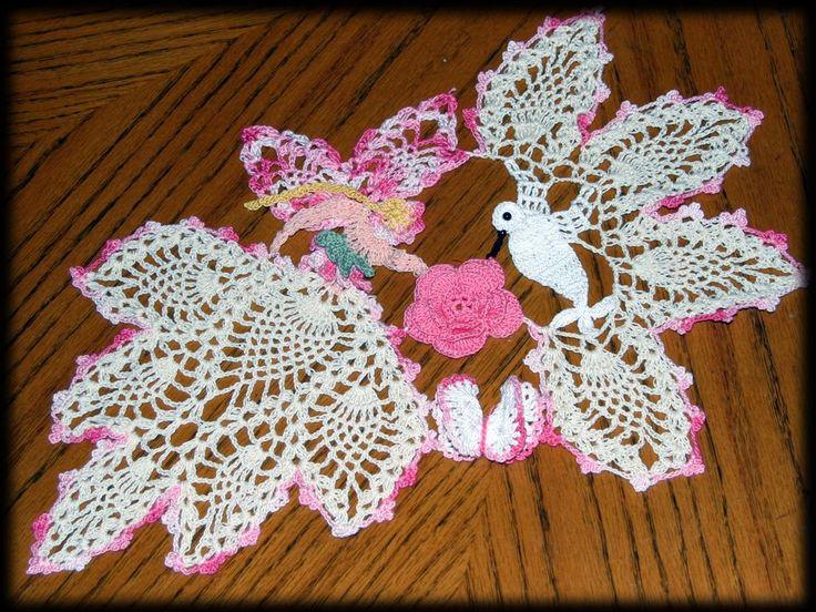 Handmade Crochet Doilies for Sale | crochet dog sweater ...