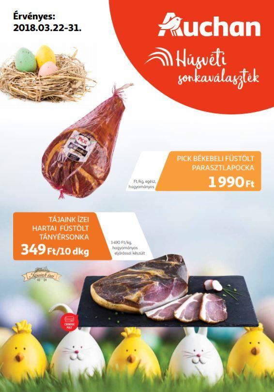 3d665416e21e Húsvéti Sonka Kínálat Az Auchanból? - Auchan Húsvéti Sonka Katalógus |  AUCHAN Akciós Újságok | Sonka, Lapocka, Karaj
