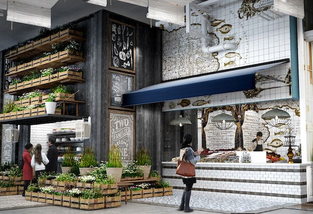 A rendering of the interior of Latinicity. Provided by Richard Sandoval Restaurants