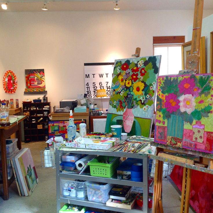 My Art Studio On Canyon Road In Santa Fe Nm