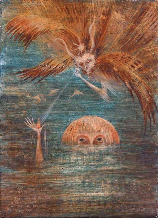 Figure in Water  - Leonora Carrington