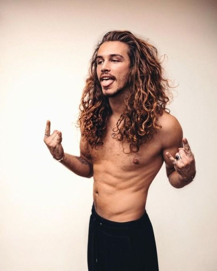 53 Long Hair for Men in Dazzling Style