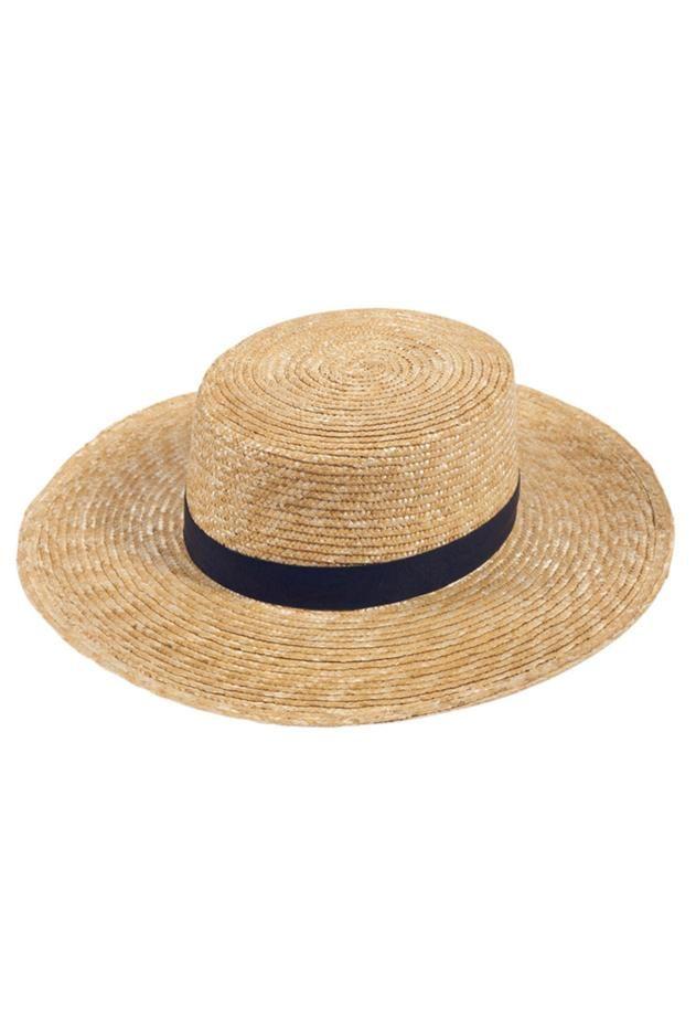 Janessa Leone Klint Natural Straw Hat at ShopGoldyn.com