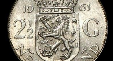 The Gulden - The old coin of the Netherlands before the Euro.
