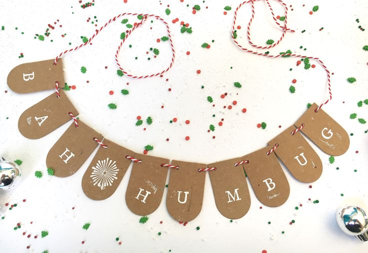 A personal favorite from my Etsy shop https://www.etsy.com/ca/listing/560943975/bah-humbug-seasonal-holiday-decor