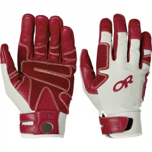 Outdoor Research Air Brake Gloves: teched-out hand protection.  www.climbing.com/gear/outdoor-research-air-brake-gloves/