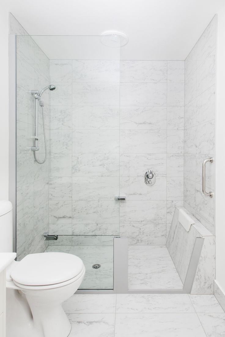 S2B Smart Shower - Glass panel converts shower to bath
