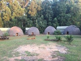 BeeHive Huts at Milwane Game Reserve, Swaziland