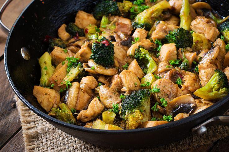Serpenyős brokkolis csirkemell - Laktató, mégis kalóriaszegény villámfogás