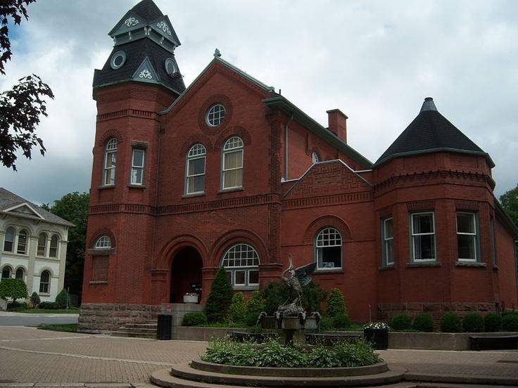 Public Library, Clinton, Ontario