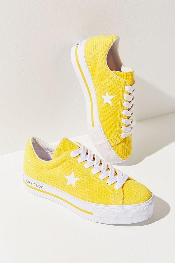 439d66d4d5bd Slide View  3  Converse One Star X MadeMe Corduroy Platform Sneaker