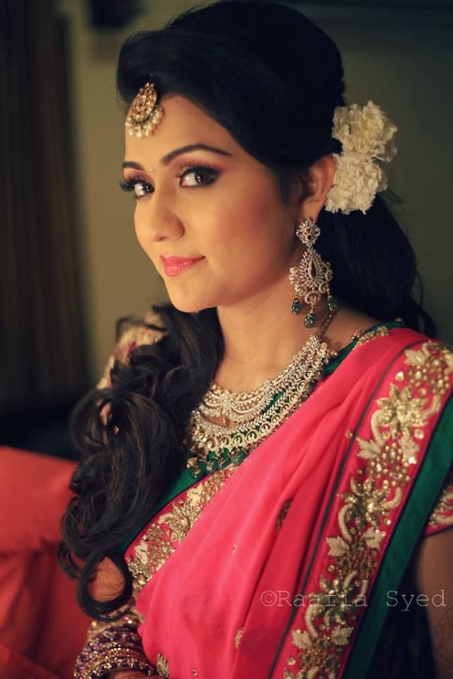 Engagement Hairstyles for Your Wedding Hyderabad