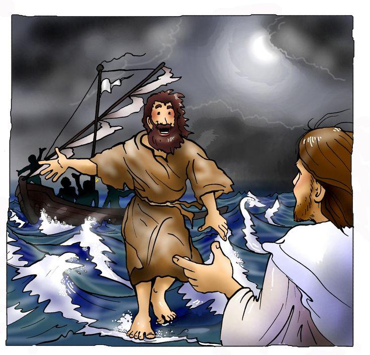 Jünger   Petrus auf dem See