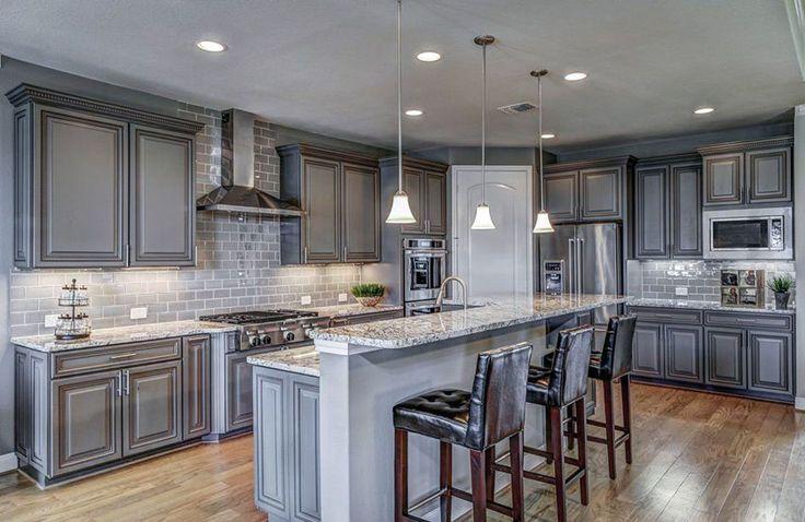 30 gray and white kitchen ideas kitchen designs grey kitchen cabinets kitchen cabinets on kitchen decor grey cabinets id=48988