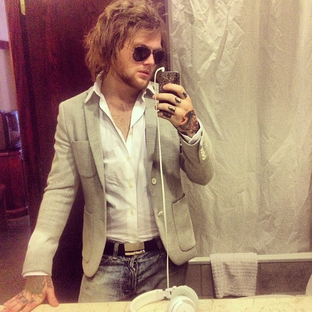 Danny Worsnop <3 Ugh why is he so gorgeous