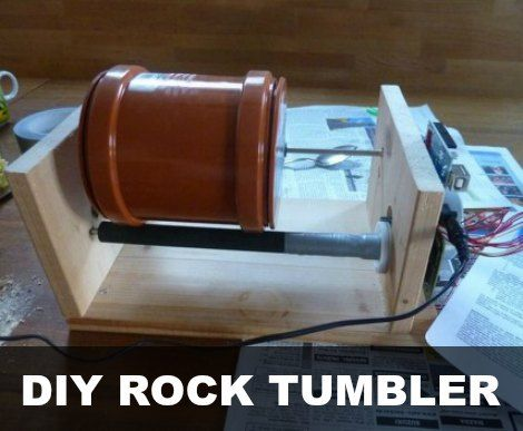 DIY Rock Tumbler Tutorial | Save Money By Making Your Own Rock Tumbler With This Tutorial | Make your own DIY rock tumbler to polish and round small stones.