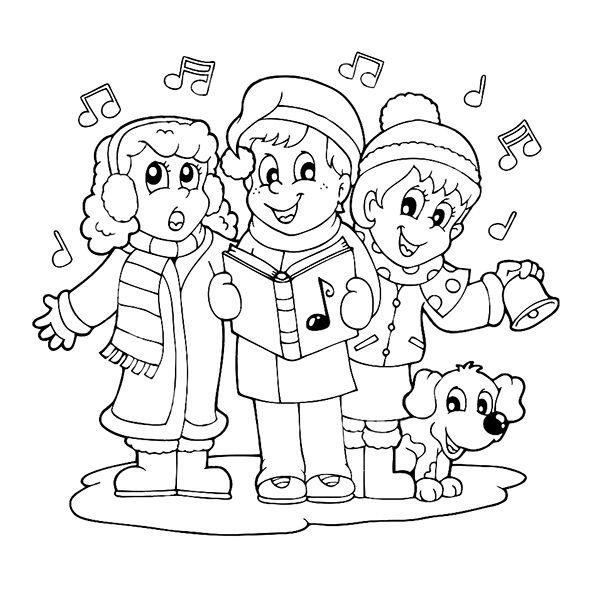 раскраска новый год для детей елочка | Раскраски ...