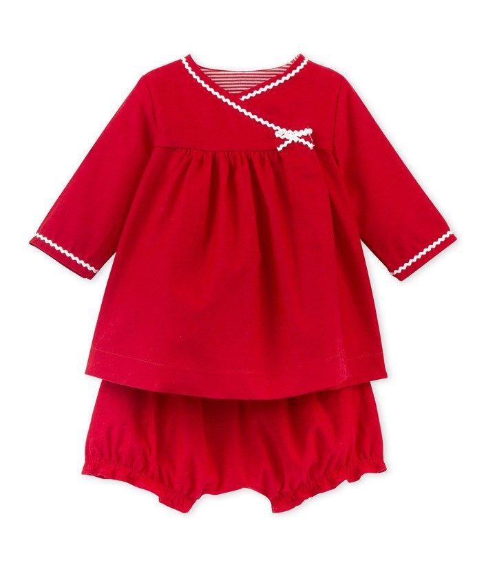Baby-Mädchen-Kleid aus Nicki mit Bloomers rot Peps. Entdecken Sie unsere Kollektion für Neugeborene, Kinder und Erwachsene.
