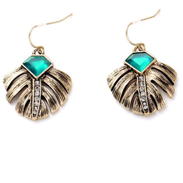 Marquesas Drop Earrings (€2,66) ❤ liked on Polyvore featuring jewelry, earrings, drop earrings, metal earrings and metal jewelry