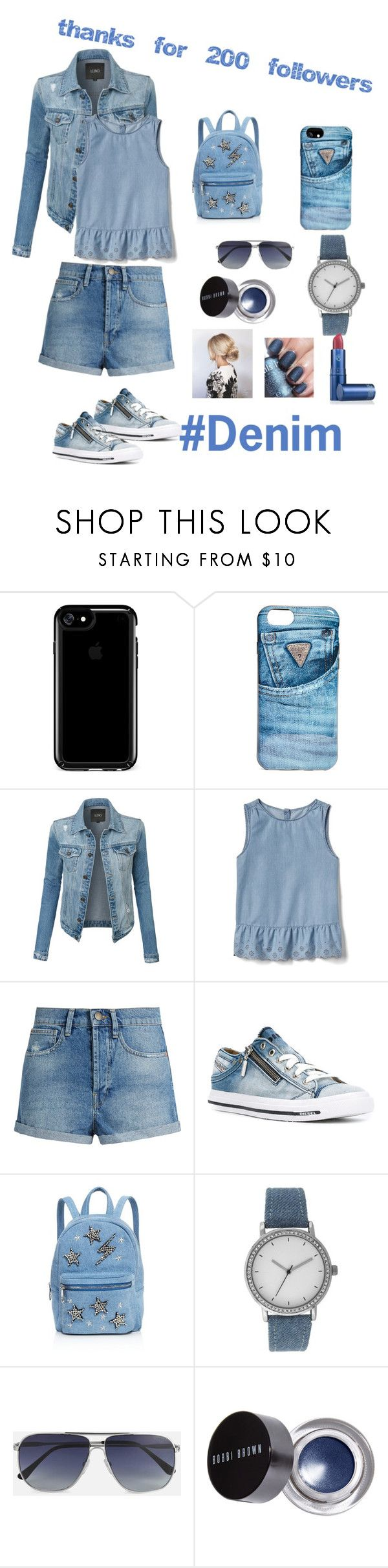 """""""Thank You so much Everyone!!"""" by rumaisa-hadia ❤ liked on Polyvore featuring Speck, GUESS, LE3NO, Gap, Raey, Diesel, Studio 33, A Classic Time Watch Co., Tom Ford and Bobbi Brown Cosmetics"""