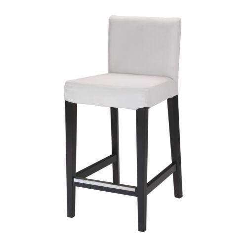 HENRIKSDAL Barhockergestell IKEA Mit gepolstertem Sitz für erhöhte Bequemlichkeit. Mit Fußstütze.