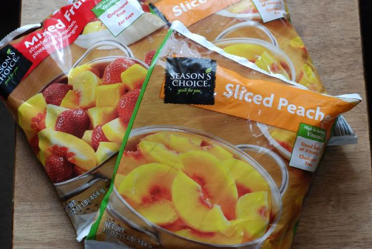 Aldi Frozen Fruit (for morning smoothies). $1.99