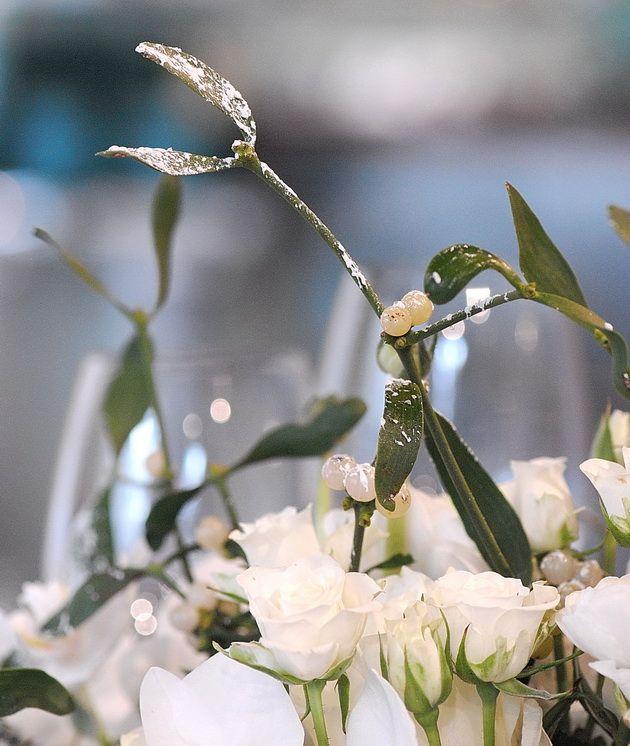 Bjarne Als' New Year table-decoration. Photo Nina Ewald