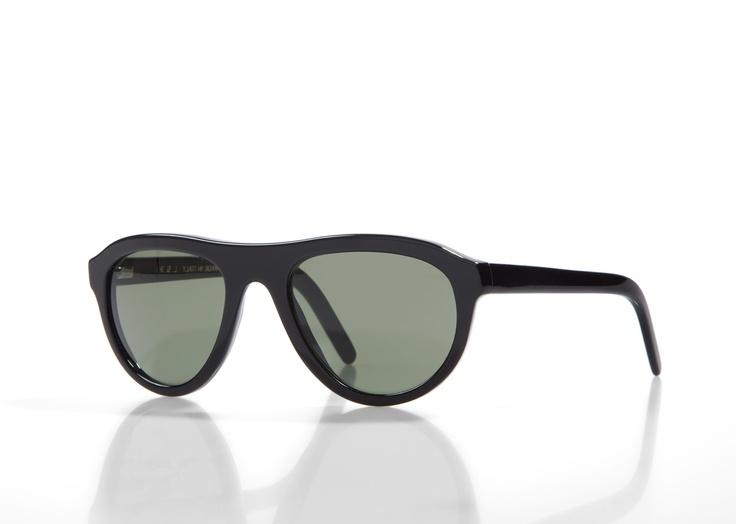 MARRAKECH - Black with Green G15 lenses
