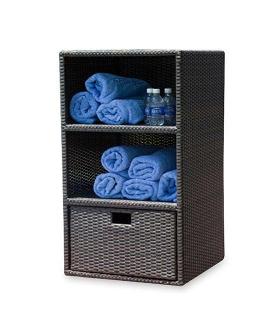 Fresh Keter 26 In X 72 In Freestanding Plastic Rattan Cabinet