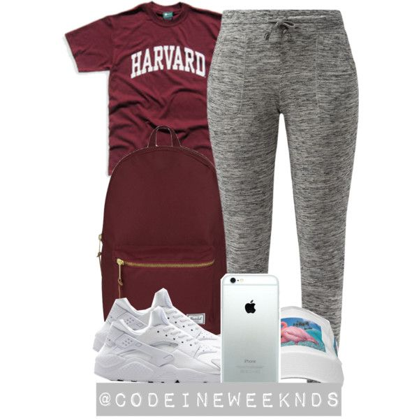 10/16/15 by codeineweeknds on Polyvore featuring polyvore, fashion, style, Herschel Supply Co. and NIKE