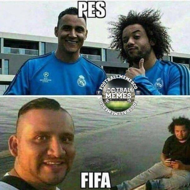 Pes Vs Fifa Graphics Football Footballmemes Soccer Soccermemes