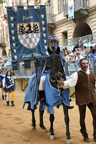 The Palio held in Asti each September is the oldest horse race in Italy, dating from the 13th century.  on July 2 and August 16, in Siena, Italy.