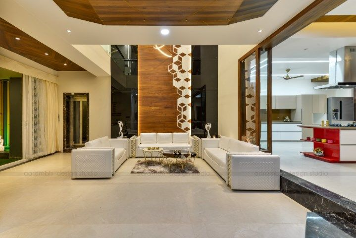 Contemporary Indian House In Indore Indian Homes House