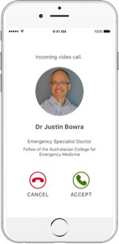 : You can download My Emergency Dr App from the App Store or Google Play, our emergency doctor App is very easy to use in emergency to contact after hours doctor.