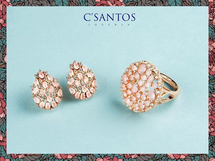¡Feliz Pascua te desea C'Santos! 🐰💐  #CSantos #HappyEaster #jewelry #jewelrygram #earrings #ring