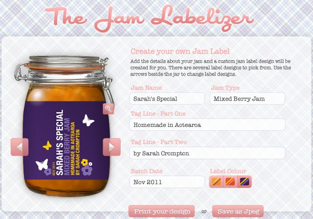 Kate's Short and Sweets: Design Your Own Canning Label - free printable