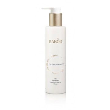 Babor Cleansing CP Mild Cleanser, 6 3/4 oz (200ml) (411066) - A particularly mild, skin-friendly cleansing milk for all skin types, especially sensitive skin. It contains the BABOR-exclusive, detoxifying extract of Agrimonia eupatoria, which has an astringent effect.