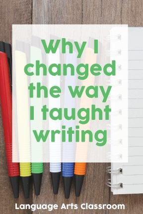 Writing alongside your students and being open about your own writing can make all the difference.