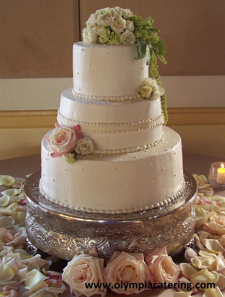 Simple Round Cake Images : 73 best images about Wedding Cakes on Pinterest Round ...