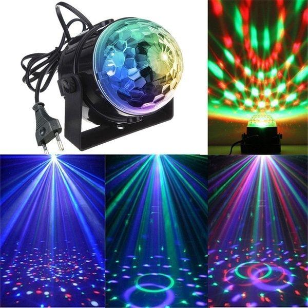 Dj Lighting Led Crystal Magic Ball Projector Stage Light Club Disco Ktv Wish Disco Laser Lights Crystal Magic Ball Dj Lighting