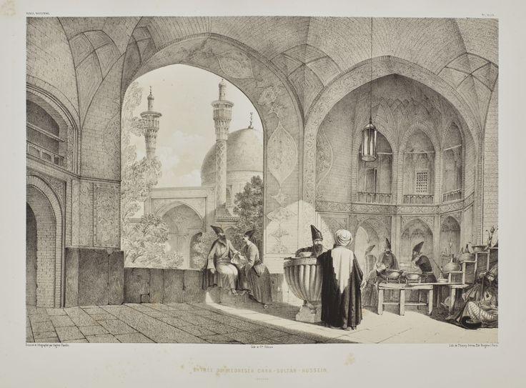 Flandin, Eugène, and Pascal Coste  VOYAGE EN PERSE... PERSE MODERNE. PARIS: GIDE ET J. BAUDRY, [1843-1854]