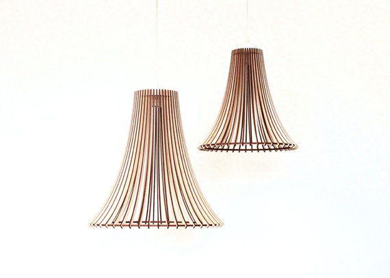 Hout Lamp / Houten Lamp Shade / Opknoping Lamp / hanglamp /