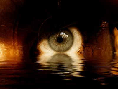 The drowning eye