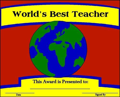 8 best Teacher Gifts images on Pinterest Teacher appreciation - copy certificate of appreciation for teachers