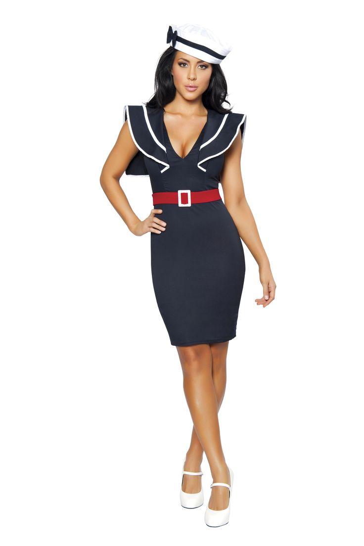 nautical costumes   Captains Choice Women Sailor Costume