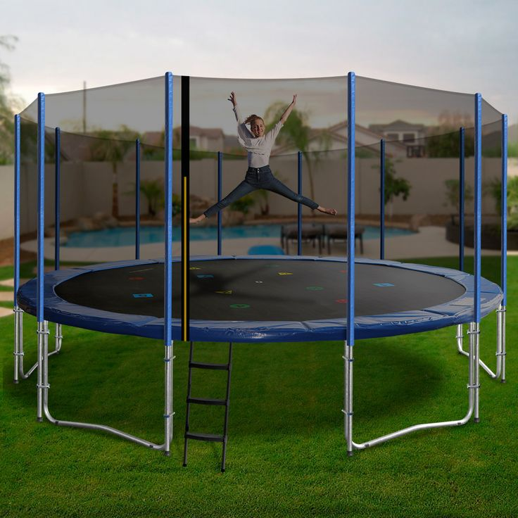 If you are searching for the ultimate family trampoline, then the Oz Trampolines 16 foot trampoline has you covered.  Our largest trampoline; this beauty has superior bounce and durability, 175kg weight capacity and is big enough for the whole family to enjoy.